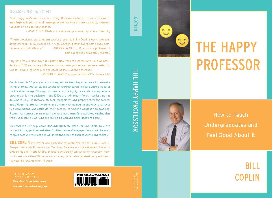 The Happy Professor book cover